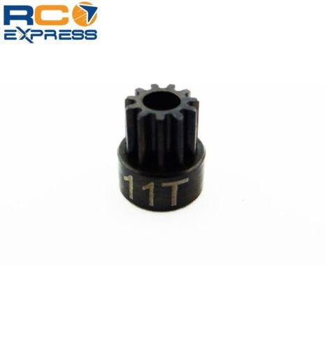 Hot Racing 11t .5 Mod Hardened Steel Pinion Gear 1//8 Bore CSG11M05