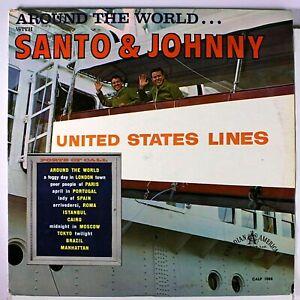Sealed-SANTO-amp-JOHNNY-LP-AROUND-THE-WORLD-CANADIAN-AMERICAN-CALP-1008-1962