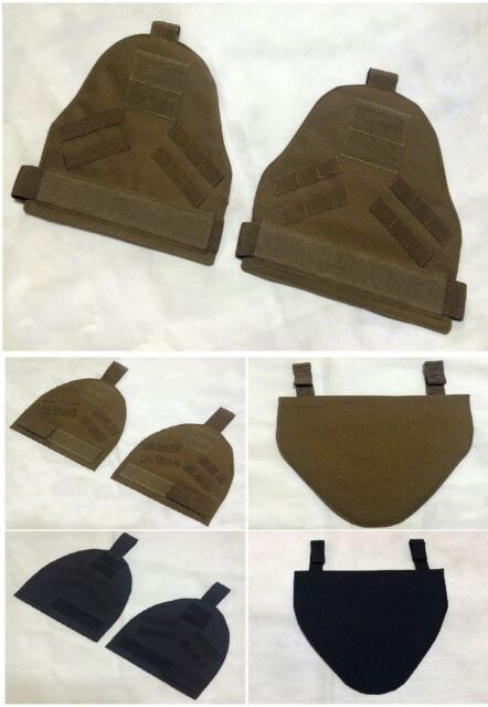 New Airsoft Molle Shoulder Protector Pads/G Pads Nylon Tan/Black/OD/Marpat/Camo