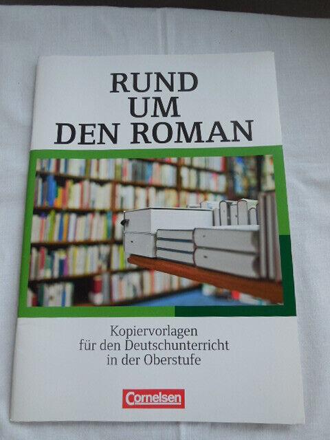 NEU Rund um den Roman-Sekundarstufe II: Kopiervorlagen Deutschunt. 9783464605356 - Helmut Hindinger-Back