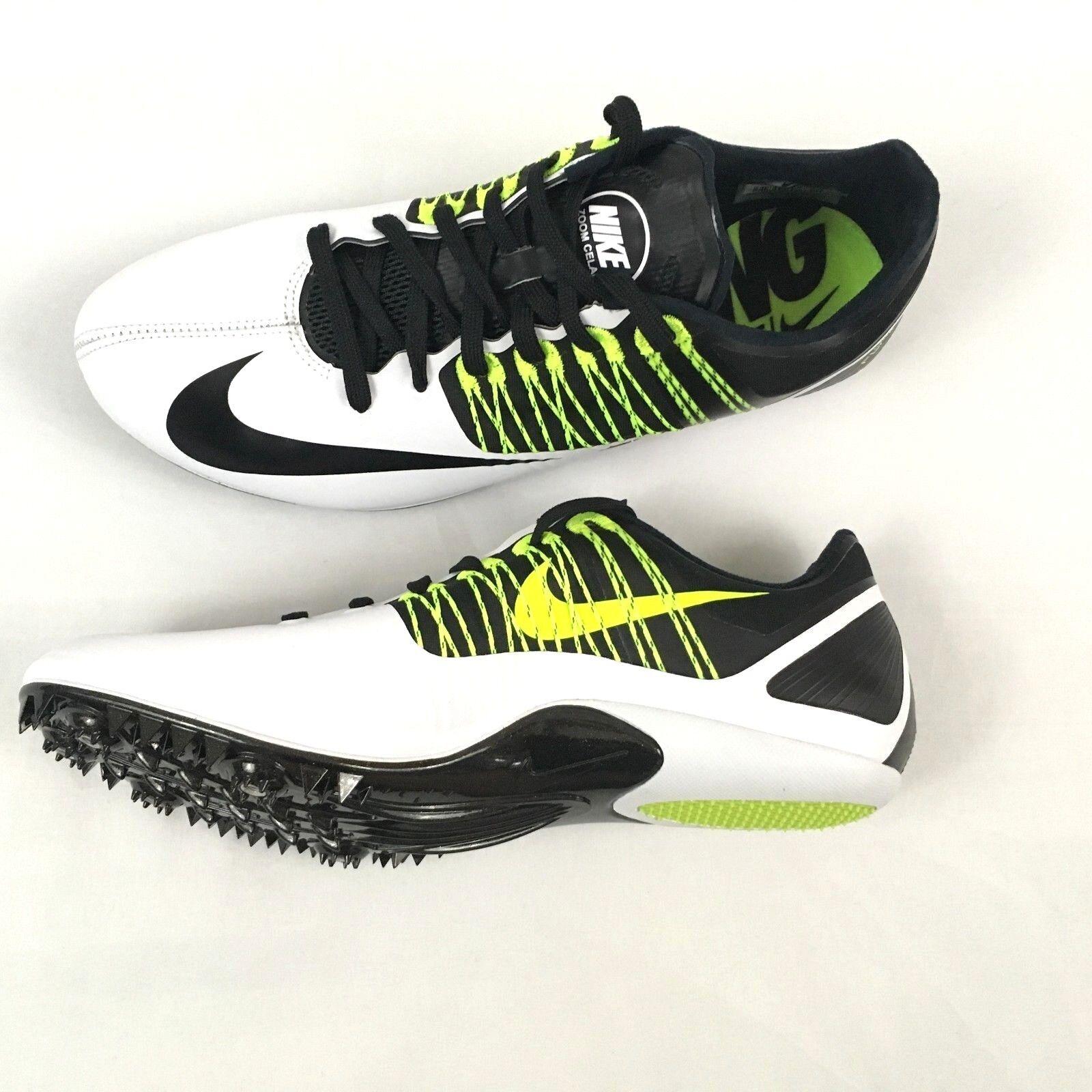 premium selection 2064c d076d ... cómodo barato y hermoso moda,. Nueva Nike Zoom Zoom Zoom No data 5  Racing Flywire Negro Blanco Volt tacos 629226-