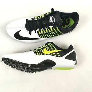 46d1c3a2f34 NEW Nike Zoom Celar 5 Racing Flywire Black White Volt Cleats 629226 ...