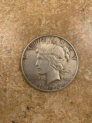 1926 Peace $1 Very Fine