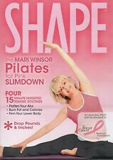 Mari Winsor PILATES FOR PINK SLIMDOWN (DVD) workout exercise SHAPE SEALED NEW