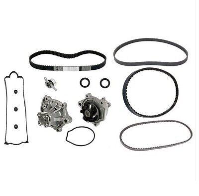 For Honda Accord 86-88 L4 2.0L Timing Belt W// Water Pump Seals /& Tensioner Kit