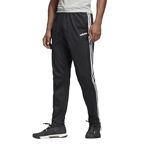 Details zu adidas Core Herren Trainingshose Essentials 3 Stripes Tapered Pant SJ Open black