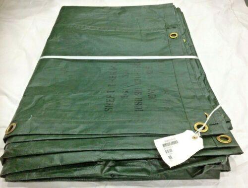 29.5 ft x 9.8 ft NEW Heavy Duty Ground Sheet Tarp  9 X 3 Mtr Olive Green #1828