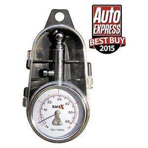 RaceX-La-presion-del-neumatico-Gauge-Calibrador-RX0014-Coche-bike