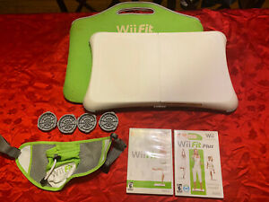 Nintendo-Wii-Fit-Balance-Board-Bundle-With-Wii-Fit-Games-Tested-and-Working