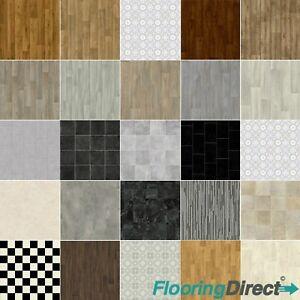 Vinyl flooring quality non slip lino bathroom kitchen - Non slip vinyl flooring for bathrooms ...