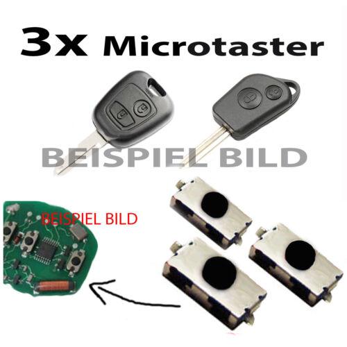 Pour CITROEN ~ clé Funkschlüssel Télécommande Palpeur Micro-Interrupteur