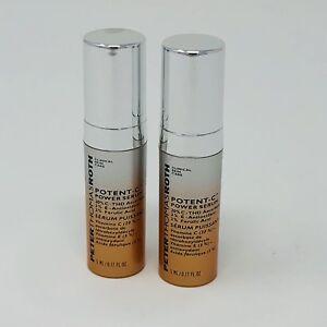 e0509d3a382 2x Peter Thomas Roth Potent-C Vitamin C Power Serum 0.17 fl oz/5ml ...