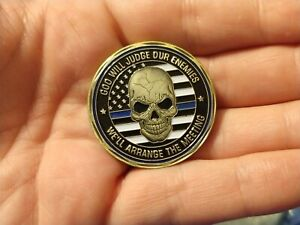 Police-challenge-coin-law-enforcement-St-Michael-Catholic-Christian