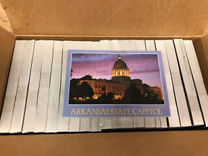 Details about ARKANSAS POSTCARD STATE CAPITOL A-159 BULK LOT OF 1000