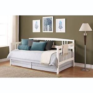 wood day bed home living room dorm guest bedroom furniture den ebay