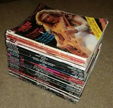 Lot of 28 Vintage Guitar Player Magazines 70s-2000s vintage covers & articles