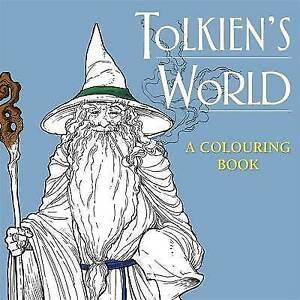 J-R-R-Tolkien-039-s-World-Colouring-Book-Paperback-New-Book