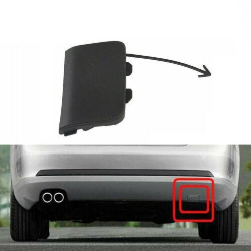 Black Rear Bumper Tow Hook Eye Cap 1K5807441A Fit for VW Jetta MK5 09-10 Sedan