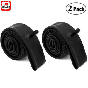 "2 PK 26"" inch Inner Bike Tube 26 x 2.125- 2.35 Bicycle Rubber Tire Interior BMX"