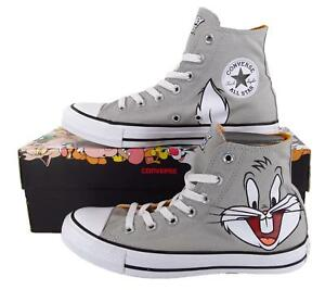 Details about Converse x Looney Tunes Bugs Bunny Chuck Taylor All Star Hi Top Sneakers 158234F