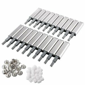 10Pcs-Push-To-Open-System-Damper-Buffer-Door-Cabinet-Drawer-Hinges-Heavier-Catch
