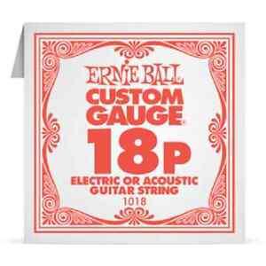 ERNIE-BALL-Corde-a-l-039-Unite-Electrique-ou-acoustique-Custom-Gauge-1018-18P