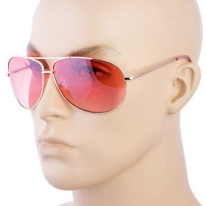 be4f5c3a19 Image is loading Color-Lenses-Silver-Metal-Frame-AVIATOR-SUNGLASSES-70s-