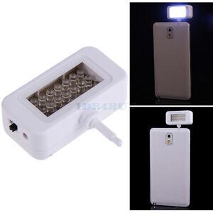 Universal Portable Mini 21 LED External Flash Fill Light Selfie For Smartphone