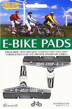 Kool Stop V-Brake Bremsbeläge für E-Bike grau - Electric Bike compound