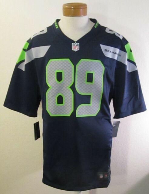 Doug Baldwin Seattle Seahawks Autograph Sign COA NFL Jersey XL Nike on Field