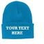 Personnalise-Custom-Imprime-votre-propre-texte-sur-Beanie-Hiver-Chapeau-personnalise-CP90 miniature 11