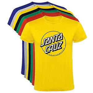 Camiseta-Santa-Cruz-skate-deportes-tipo-A-Hombre-varias-tallas-y-colores-a053