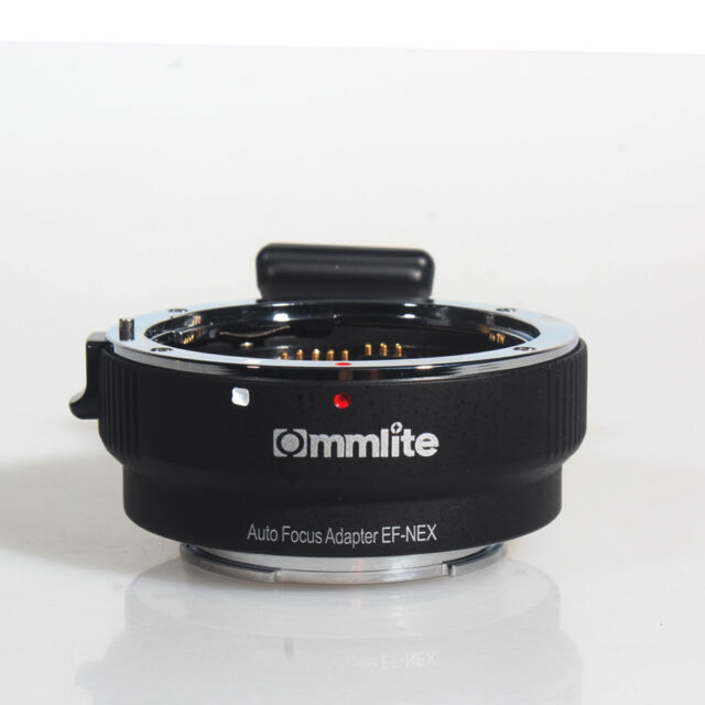 COMMLITE Auto Focus Mount Adapter CM-EF-NEX for Canon EOS to Sony NEX E A7 A7S