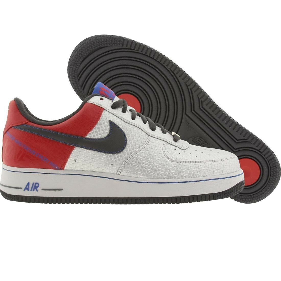 3201890001 Nike Force 1 Baja Premium Jones Original Air seis Bobby Jones Premium Plata Rojo 3bf620