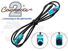 In car radio aerial extension cable lead 1M male Fakra - Fakra female CT27AA117