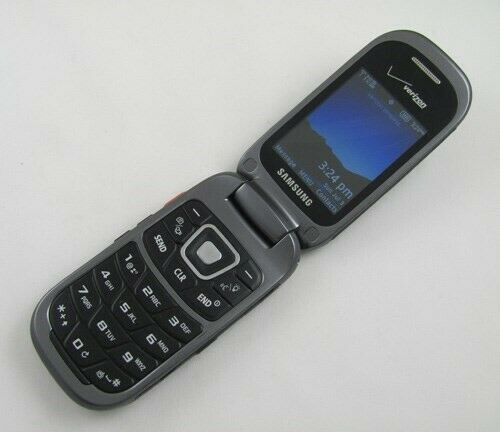 Samsung U680 Convoy 3 Verizon Cell Phone BREW GOOD
