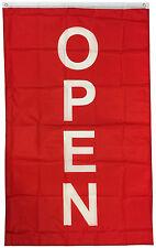 3x5 Ft Vertical Open Flag Store Banner Sign Flag Rb