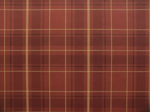 Tartan Plaid Style Wallpaper Red