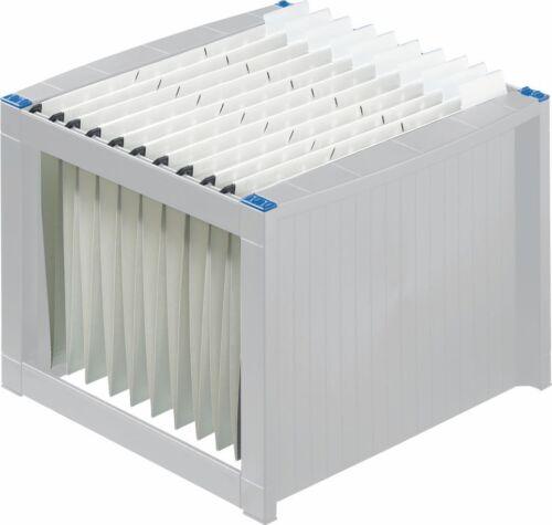 helit Hängeregister-Gestell lichtgrau H61100 für ca 40 Hängemappen unbefüllt