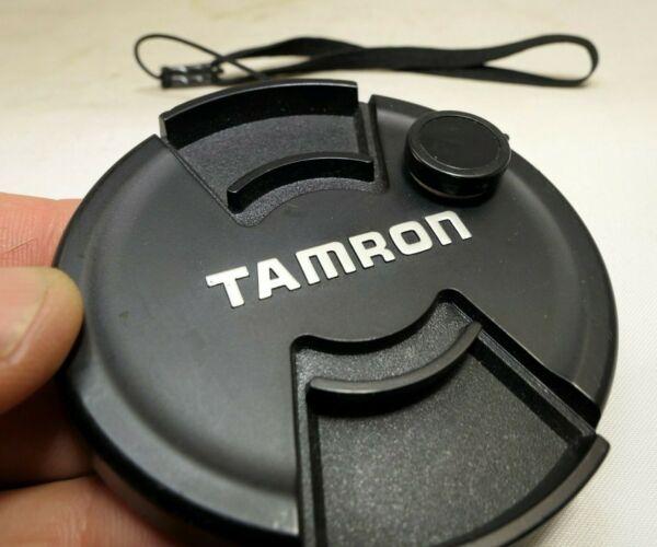 DéVoué Tamron 72mm Lentille Avant Bouchon Snap On Type Avec Sécurité Corde