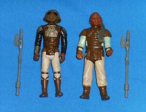 Original Vintage Weequay Star Wars V1 Skiff Vibro Axe Klaatu Lando Weapon