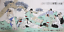 RARE-EXCELLENT-LARGE-Chinese-100-Handed-Painting-By-Fan-Zeng-HG25818 縮圖 1