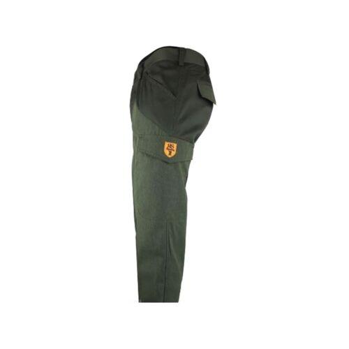Pantalone per caccia da uomo RANGER/'S SPORT in tessuto verde T-98//G-VERDE