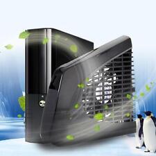 USB-Lüfter Außenseite Kühler Cool für XBOX 360 X360 Slim Konsole Schwarz