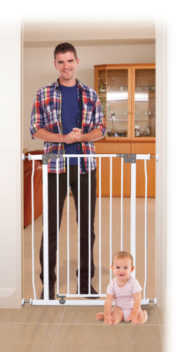 NEW Dreambaby Liberty tall security gate GREAT for KIDS AND PETS WHITE BNIB
