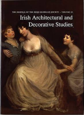Irish Architectural and Decorative Studies, Vol. XI