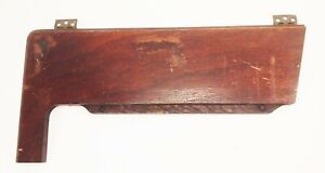 Vtg-antique-Singer-treadle-sewing-machine-cabinet-wood-top-lid-leaf-part-piece