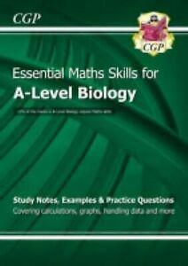 Neuf-A-Level-Biology-Essentiel-Maths-Skills-Cgp-Livres