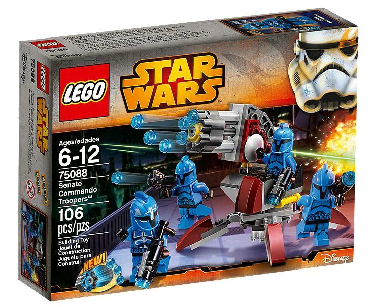 LEGO ® Star Wars ™ 75088 Senate Commando policiers ™ Nouveau neuf dans sa boîte NEW En parfait état, dans sa boîte scellée Boîte d'origine jamais ouverte