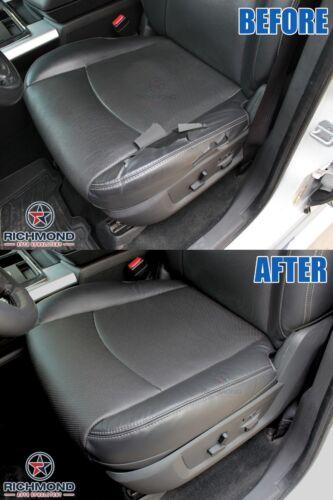 Driver Side Bottom Leather Seat Cover Black 2016 2017 Dodge Ram 2500 Laramie